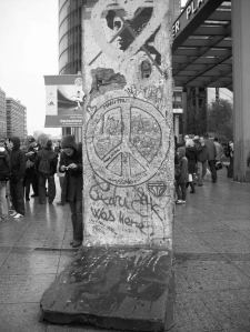 The Berlin Wall - or what's left of it...