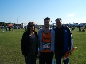 Mam, me and Uncle Ed